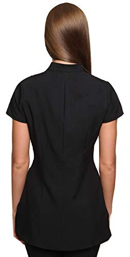 Nero Casacca Abbigliamento Freya Donna Estetista Yn4fpqH