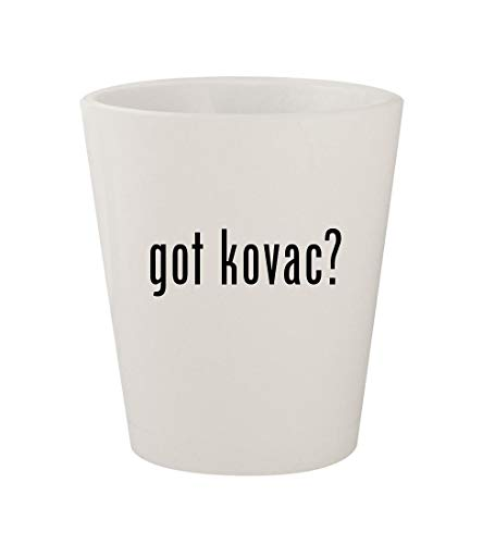 got kovac? - Ceramic White 1.5oz Shot Glass