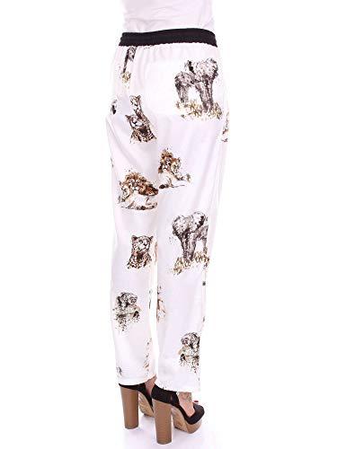 Pantalon Mujer 1b133u6878 Blanca Fantasía Pinko q1pvUwx