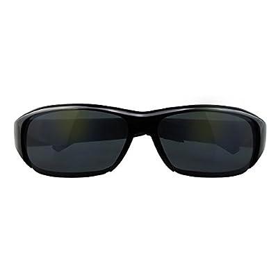 SpyGear-Monuen Hidden Camera Eyeglasses Photo Audio Vide Recording Spy Camera Glasses Wireless Surveillance Camera Black - Monuen
