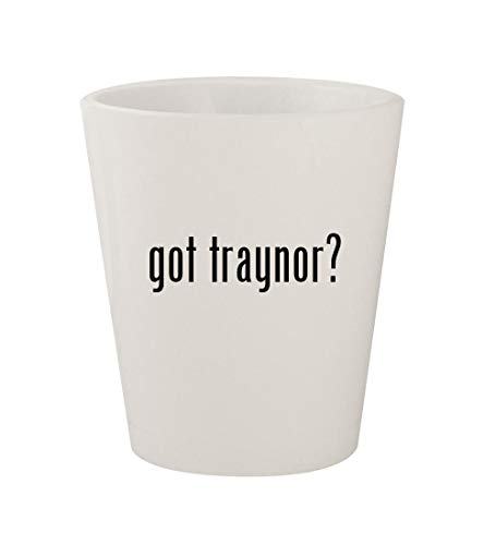 - got traynor? - Ceramic White 1.5oz Shot Glass