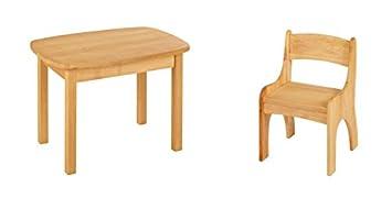 Biokinder 24788 Spar Set Levin Kindertisch Mit Stuhl Massivholz