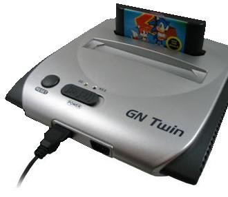 Gn Twin NES & Sega Genesis Game System