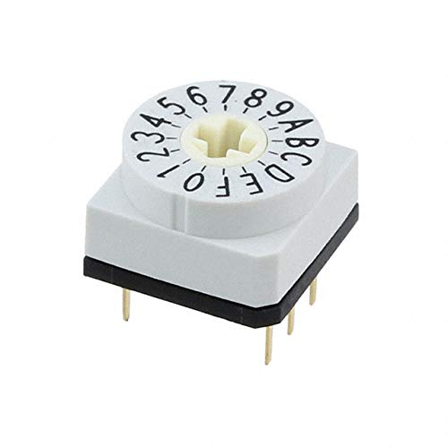 - SW ROTARY DIP HEX COMP 150MA 24V, (Pack of 10)