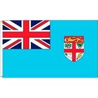 FIJI 3 X 5 FEET LARGE COUNTRY FLAG BANNER ... (92 CM X 152 CM) .. NEW