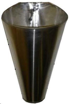 M2 Stainless Steel Chicken/Poultry Processing Restraining Killing Funnels Cones by EZPLUCKER