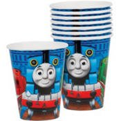 8 Thomas  The Tank Engine All Aboard Birthday Party 9 Ounce Paper -