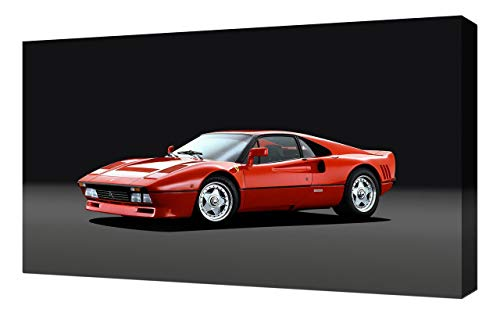 Lilarama USA 1984-Ferrari-288-GTO-V1 Canvas Art Print - Wall Art - Canvas Wrap ()