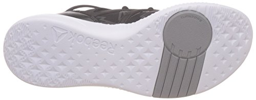 Black Grey Reebok Tin White Fitnessschuhe Damen znwOpg