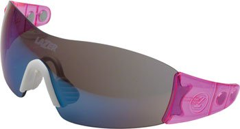 9487f632b5e 2015 Lazer Unisex Magneto M1S Sunglasses Crystal Pink Frame   Blue Mirror  Lens