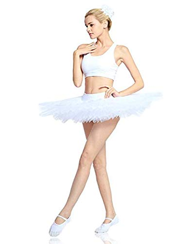 Plateau De 5 Wendywu Femme Couches Jupe Ballet Professional Tutu wPkXTliOZu