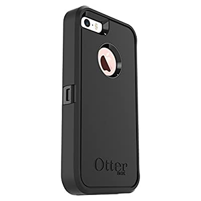 OtterBox DEFENDER SERIES Case for iPhone 5/5s/SE - Retail Packaging - BLACK from OtterBox