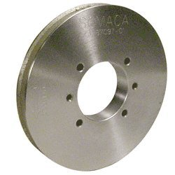Somaca/CRL VE4 Flat and Seam Edge 120-140 Grit Grinding Wheel for 1/4'' to 1/2'' Glass - 38709701 by CRL