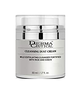 CLEANSING DUST CREAM/maintains vital cell water balance to guard against dehydration/promotes collagen production-Dermaceutical.