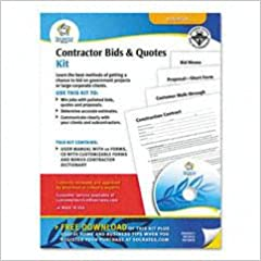 contractor bids quotes socrates media 9781595460783 amazon com