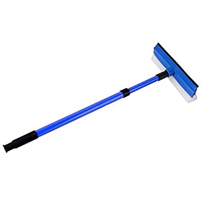 1pcs alargado esponja rasqueta limpiacristales limpiador arandela cepillo coche limpiaparabrisas ventana Kit de limpieza para cristal, espejo, ducha