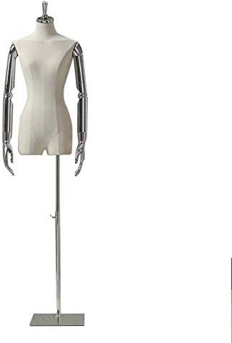 SGMYMXテーラーダミー 女性モデル、仮想ディスプレイ胴体、ファッションデザイナー、テーラーテーラー テーラーのダミー (Color : B)