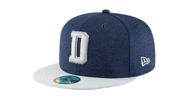 Amazon.com   Dallas Cowboys New Era Sideline Home 59Fifty Cap   Sports    Outdoors ae1062c67