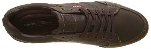 Brown 29 dark Marrone 2 Uomo Levi's Sneaker 0 Turlock 0qnY8B