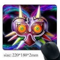 hot sale low price Mask of Majora Zelda printed pattern high quality notebook mouse pad anti
