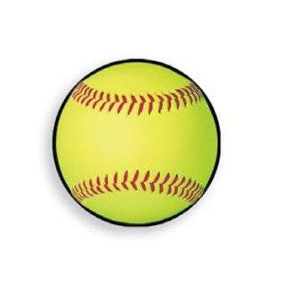 "Beistle 10"" Softball Cutout from Beistle"