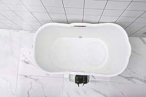 Mobile Badewanne, Ideal für das kleines Badezimmer, 92 * 51 ...