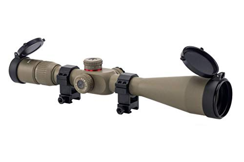 Great Deal! Monstrum G2 6-24x50 First Focal Plane FFP Rifle Scope with Illuminated Rangefinder Retic...