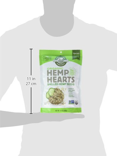 Manitoba Harvest Organic Hemp Hearts Raw Shelled Hemp Seeds, 12oz; with 10g Protein & Omegas per Serving, Non-GMO, Gluten Free by Manitoba Harvest (Image #12)