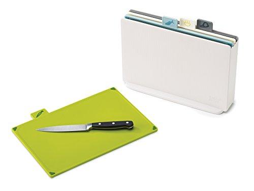 Joseph Joseph Index Chopping Board Set-Opal, Set of 4, Regular