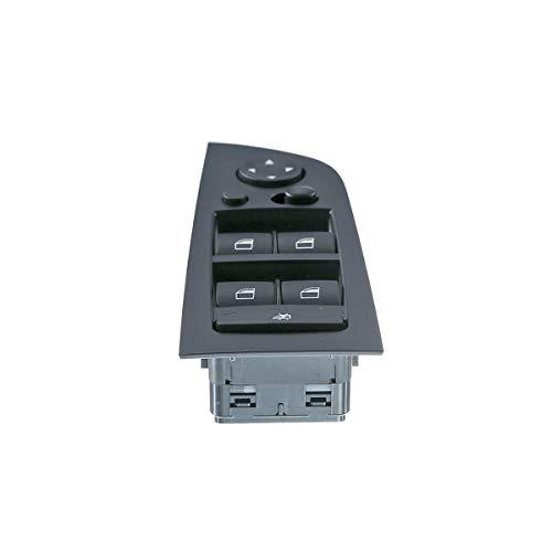Front Driver Side Power Window Switch for BMW 325i 2005-2011 335i 2007-2012 (with Power Folding Mirrors) Bmw 325i Mirror Folding