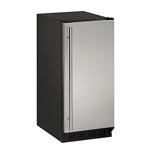 "U-line White Refrigerator - U-Line (U-CLR1215S-40A) - 2000 Series 15"" Clear Ice Machine"
