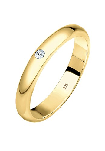 Elli PREMIUM - Bague - Or jaune - Diamant  - 0612312614_56