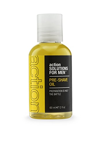 Action Solutions for Men Pre Shave Oil, 2 Fluid Ounce (Shave Pre Solution)