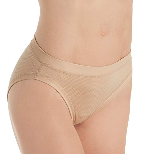 0784013d4b79 ExOfficio Womens Give-N-Go Sport Mesh Hi Cut Brief (XL - Buff ...