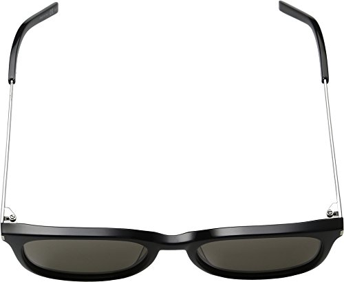 Saint Laurent - SL 111, Géométriques, [nd], homme, BLACK/GREY CRYSTAL LENS(001), 53/19/145