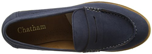 Chatham Femmes Megan Penny Loafer Chaussure Marine
