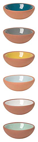 Now Designs Terracotta Pinch Bowls, Set of 6 (2 Sets) by  (Image #1)