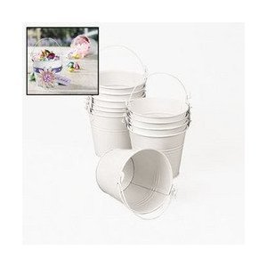 Small Tin Buckets - 7