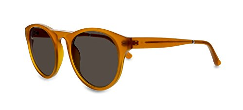 Smoke X Mirrors Et Moi Unisex Sunglasses SM114 Based in New York City, Handmade in France (Miel, - New City Sunglasses York