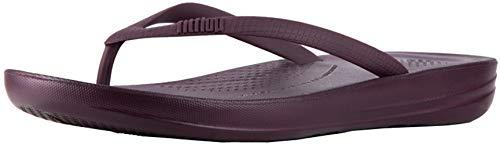 FitFlop Women's Iqushion Ergonomic Flip-Flop Wild Aubergine 8 M US