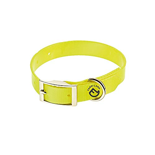 FARM-LAND 90-1-161-004 Dog Collar Basic Signal Yellow 50