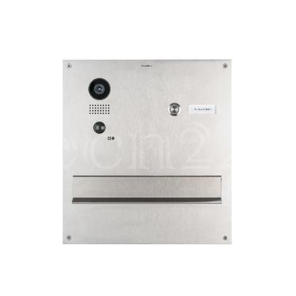 W-LAN 1 Fam. Edelstahl Videotürsprechanlage DoorBird D203 im Durchwurfbriefkasten