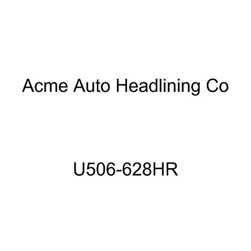 Acme U506-628HR Dark Charcoal Velour Front Bucket and Rear Bench Seat Upholstery with Charcoal Velour Inserts