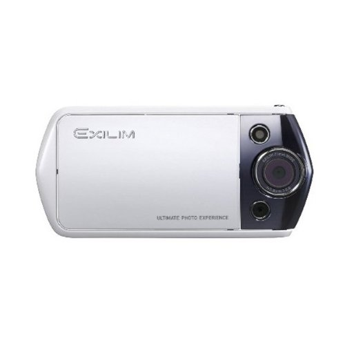 Casio Exilim Ex-tr10 Digital Camera (White) International - Model Cipa New