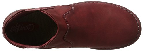 Scarlet Boots Washed Damen Rot Tep413sof Chelsea Softinos qax4Y7vq