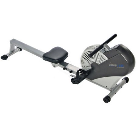 Rower Machine Fitness Exercise Cardio Workout Training Home Gym Equipment Body Glider Solid steel Construction Rower Machine 5 Levels Resistance Comfortable, Stitched Seat Foam Hand Grips Build Muscle