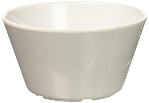 Winco MMB-8W Melamine Bouillon Cup, 8-Ounce, White (Pack of 12)