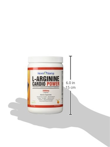 L Arginine 5000mg Cardio Power: Powerful Nitric Oxide Booster, w/ L citrulline, CoQ10 & Resveratrol. Amino Acids Build Muscle Fast, Boost Performance, Increase Workout Endurance.
