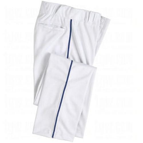 Champro大人用Warpknit Piped Baseballパンツ B00SZF7NDY 3L ホワイト/ネイビー ホワイト/ネイビー 3L