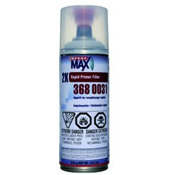 Spray MAX 2k Rapid Primer FillerGRAY Non ISO - ()